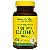 Nature's Plus, Egg Yolk Lecithin, 600 mg, 90 Veggie Caps - 3PC