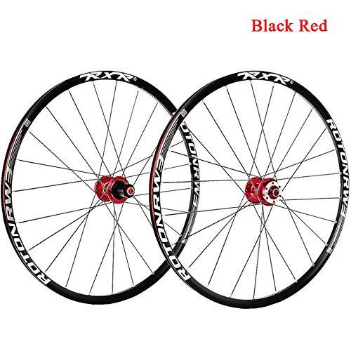FidgetFidget 7-11 Speed QR/Thru Axle Mountain Bike Wheels 26/27.5/29'' Disc Brake MTB Wheelset 29'' Black Quick Release 1Pair Wheels by FidgetFidget (Image #8)