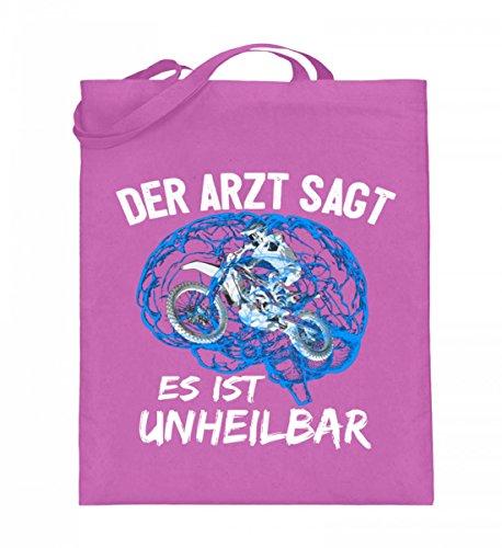 Shirtee SPCHHAAX_XT003_38cm_42cm_5739 - Bolso de tela de algodón para mujer Azul azul 38cm-42cm Rosa