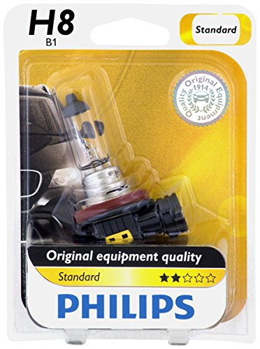 Philips H8 Standard Halogen Headlight Bulb (Pack of 1)