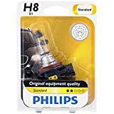 Philips 12360B1 H8 Standard Headlight Bulb, Pack of 1