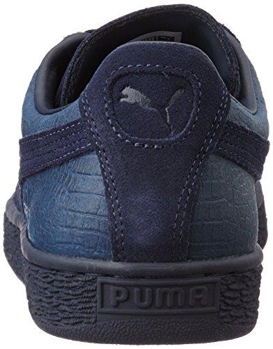 Adulte peacoat 361372 Mixte Puma 02 Baskets Basses Bleu wyaBfyHCIq