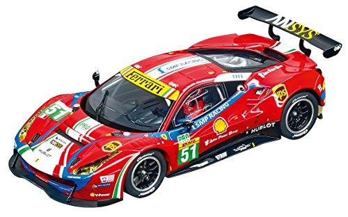 Carrera USA 20030848 Digital 132 Ferrari 488 GT3 AF Corse No.51 Slot Car Racing Vehicle, Red ()