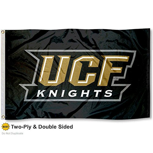 UCF Golden Knights Double-Sided 3x5 Flag