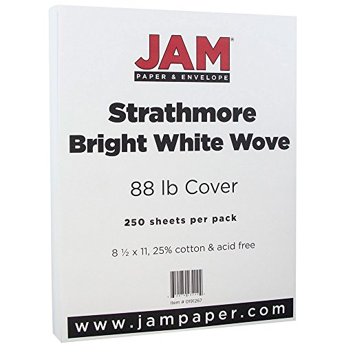 JAM PAPER Strathmore Cardstock - 8 1/2