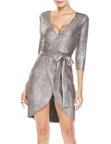 3/4 sleeve club dresses - 5