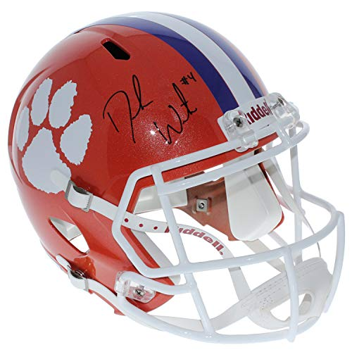 Deshaun Watson Autographed Signed Clemson Tigers Full Size Speed Replica Helmet - PSA/DNA Certified Authentic