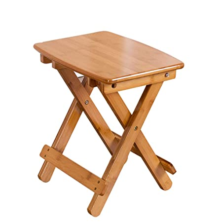 Enjoyable Cpsh Small Stool Wooden Color Bamboo Living Room Balcony Machost Co Dining Chair Design Ideas Machostcouk