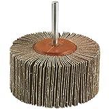 Wolfcraft 2035000 - Cepillo abrasivo a láminas, grano 150 Ø 60 x 40 mm