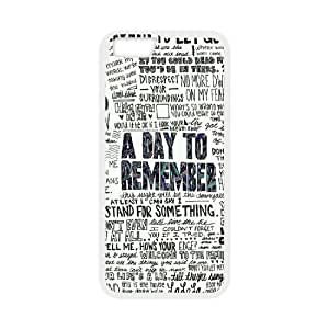 """T-TGL(RQ) Iphone6 4.7"""" DIY Phone Case A Day to Remember with Hard Shell Protection"""