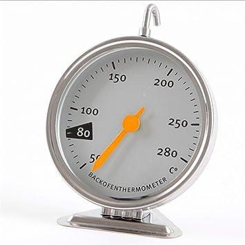 Ycncixwd - Termómetro para horno de cocina con esfera de acero ...