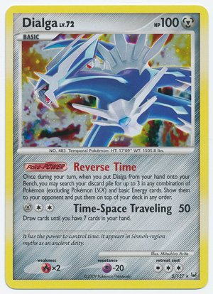 pokemon cards dialga platinum - 1