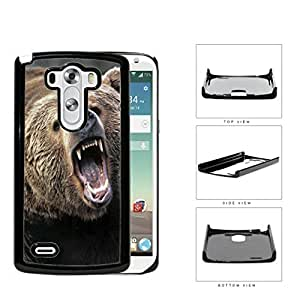 Angry Grizzly Bear Close-up Portrait Hard Plastic Snap On Cell Phone Case LG G3