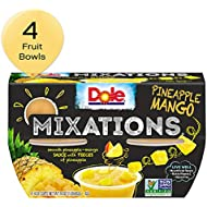 Dole Mixations, Pineapple Mango, 4 Ounce, 4 Cups