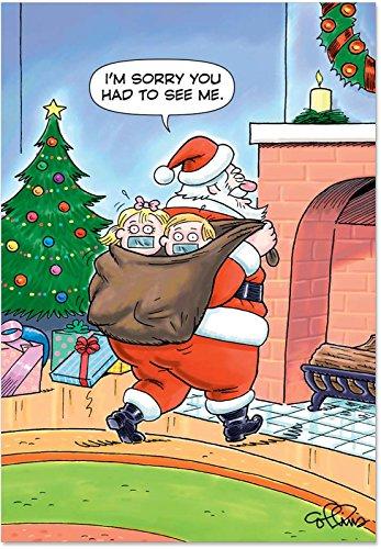 NobleWorks B5734 Box Set of 12 Santa Kidnap Collins Chris...