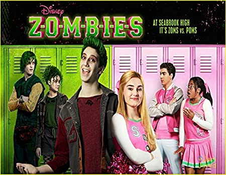 Disney Zombies Zed Addison Seabrook High Edible Cake Topper Image ABPID00415-1//8 sheet