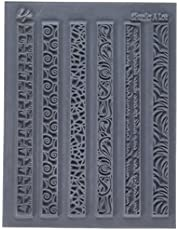 Great Create Lisa Pavelka Individual Texture Stamp, 4.25 by 5.5-Inch, Shanks a Lot, 1 Per Package