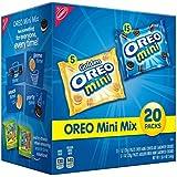 Oreo Mini Original and Golden Mini Cookie Mix, 20 Ounce