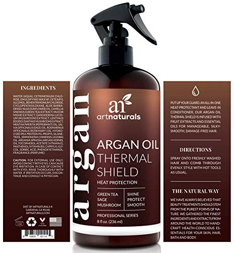 Buy heat protectant for straightening hair