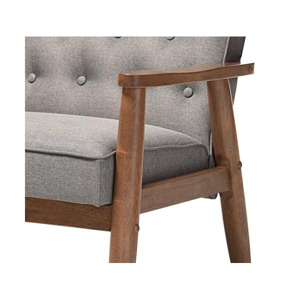 Baxton Studio Sorrento Lounge Chair