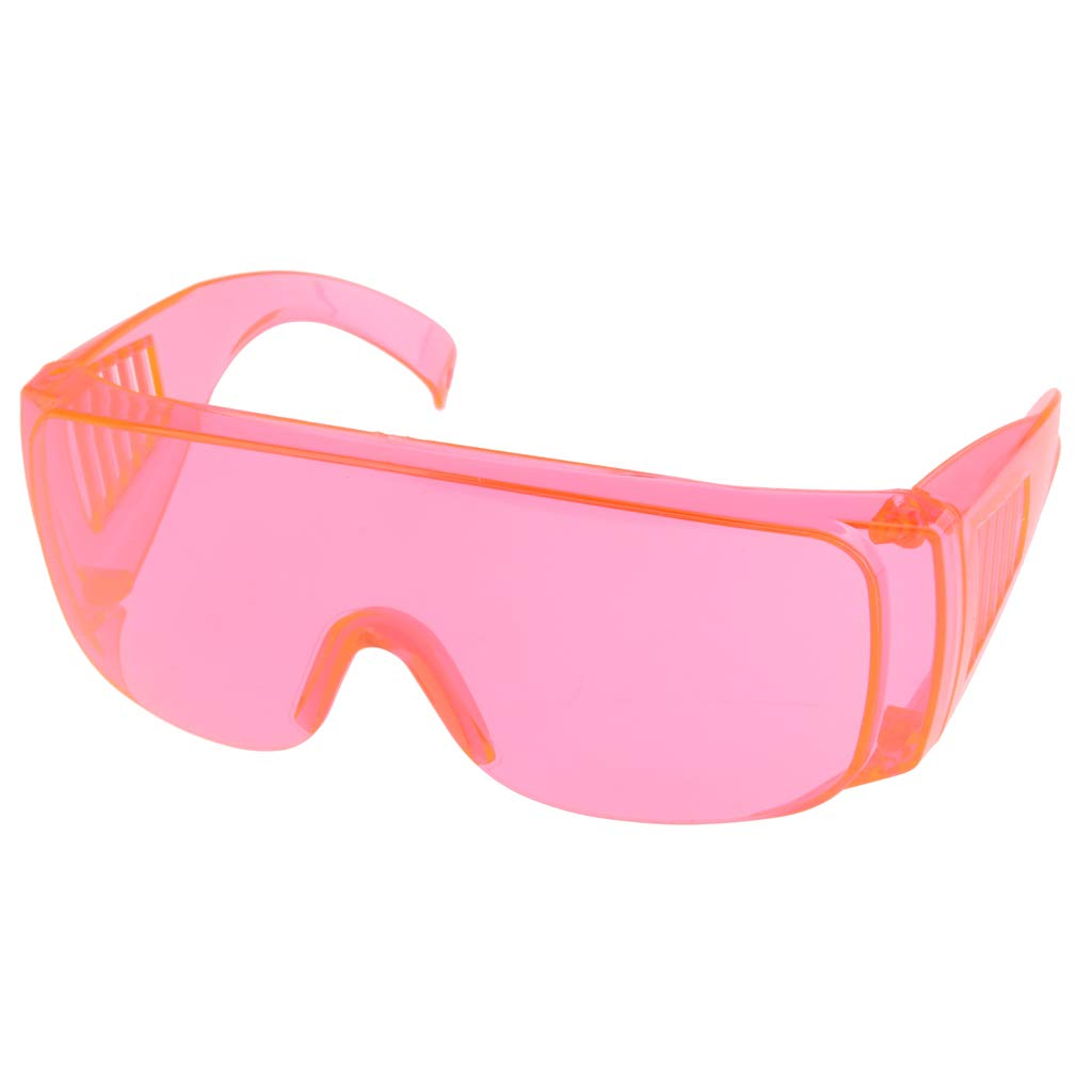 Fityle Safety Glasses Protective Work Labour Eyewear Resistant Goggles - Orange