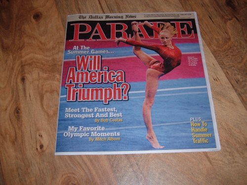 Nastia Liukin-Olympic Gymnast-Parade magazine-August 3, 2008-Olympic Preview Issue.