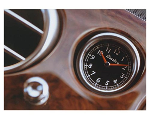2003 Bentley Continental GT Breitling Clock Automobile Factory Photo (Bentley Clock)