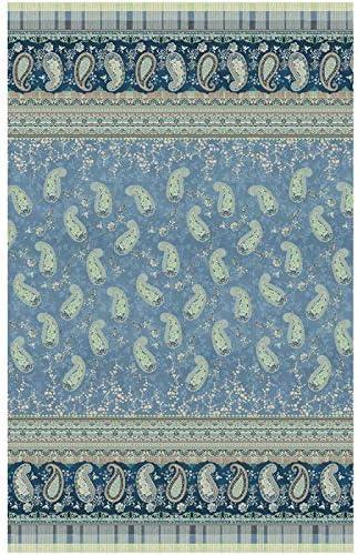 Bassetti ANACAPRI - Foulard (algodón, 180 x 270 cm), Color Azul ...