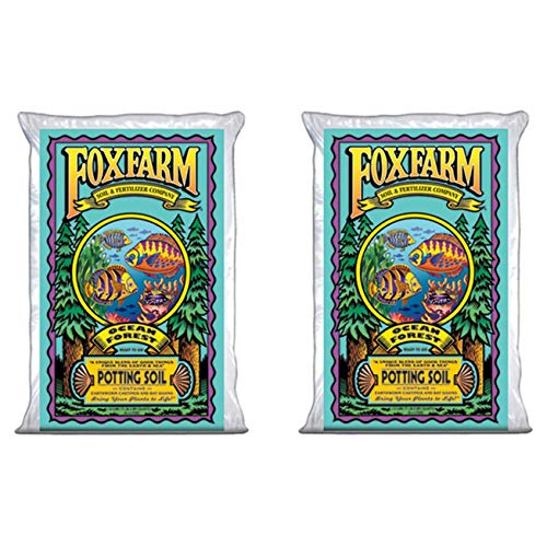 Fox Farm FX14000-2PK Foxfarm FX14000 1.5 Ocean Forest Garden Potting