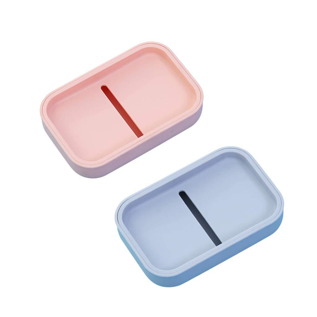 TeasyDay Caja de jabón portátil de Estilo japonés, Caja de jabón ...