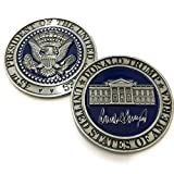 Aizics Mint Trump Coin - Stunning, one-of-a-Kind Donald Trump Challenge Coin -The 2017 Presidential Inauguration - Limited Edition Coin for All Trump Supporters