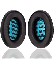 Replacement Bose Ear Pads Kit-Ear Cups Cushion for Bose QuietComfort QC 2 15 25 35 AE2 AE2i AE2w SoundTrue SoundLink(Around-Ear) Headphone
