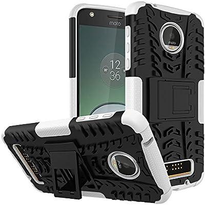 TiHen Funda Motorola Moto Z Play 360 Grados Protective con ...