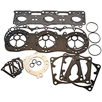 Amazon com: (Compatible With Yamaha) Power Valve Top End Gasket Kit