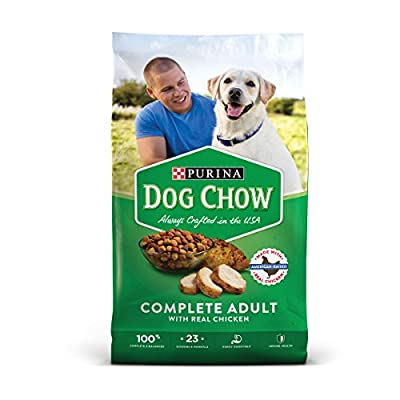 Purina Dog Chow Complete With Real Chicken Adult Dry Dog Food - 18.5 Lb. Bag