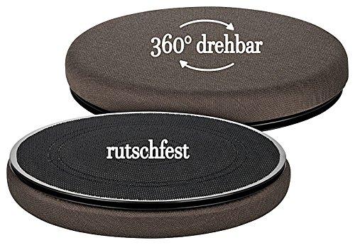 Cojines rotacionales ortopédicos 360 °, cojines de asiento ...