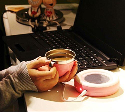 Beverage Warmer | USB Coffee/Tea Cup/Mug Warmer | Keep your Coffee or Tea drink warm for longer time by Ehome (Image #6)
