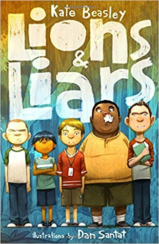 Cover art for the book entitled Lions and Liars