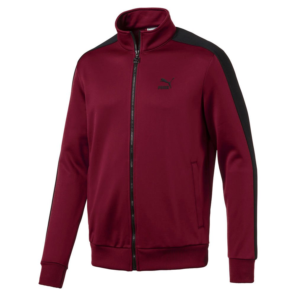 PUMA Men's Archive T7 Track Jacket, Red, M by PUMA