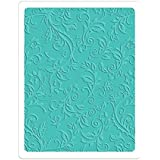 "Sizzix ""Botanical Swirls"" Textured Impressions Plus Embossing Folder by R. Bright"