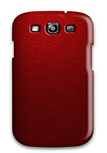 Top Quality Rugged Fresh Red Case Cover For Galaxy S3