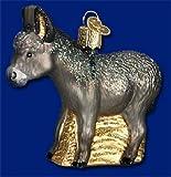 Old World Christmas Donkey Glass Blown Ornament