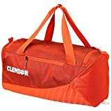 Nike Clemson Tigers Vapor Max Air Duffel Bag Orange Purple