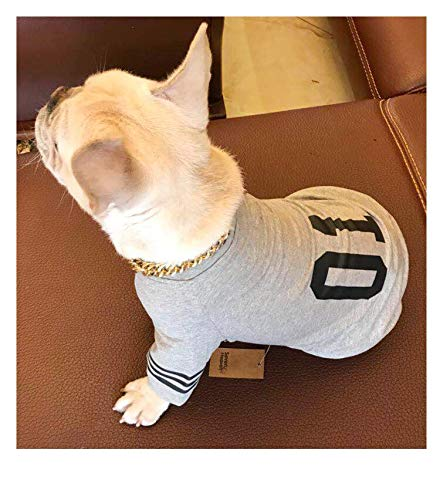 J.Smiths Dog Vests - New Pet Dog Cat Vest Number 10 Printed Puppy Shirt Coat Pet Clothes Summer Dog Clothes Costumes Casual Sport Soccer Jersey Vest 1 PCs