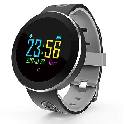 HIXGB Q8 Pulsera Actividad,Reloj Inteligente con Monitor De Frecuencia Cardíaca,Impermeable,Whatsapp
