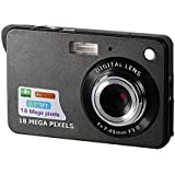 Mini Digital Camera,CamKing CDC3 2.7 inch TFT LCD HD Digital Camera(Black)