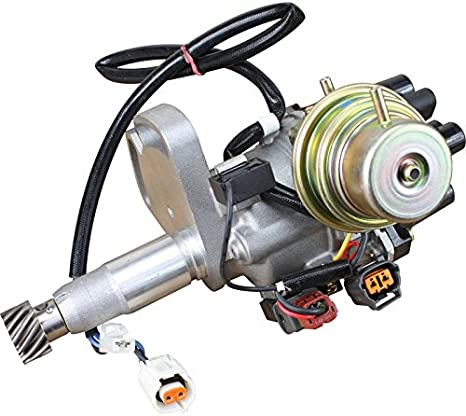 AIP Electronics Complete Premium Electronic Ignition Distributor Compatible Replacement For 1996-1998 Mazda MPV 3.0L V6 TOT57571 MZ30 Oem Fit DTOT575