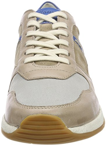 Sioux Rodon, Sneaker Uomo Beige (Cocco/Cobalto-kombi)