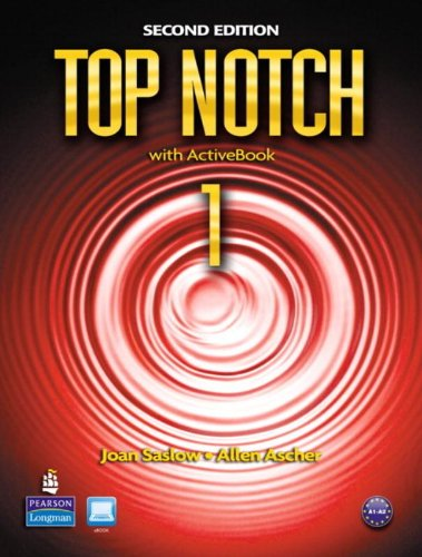 Top Notch 1 with ActiveBook, 2nd Edition
