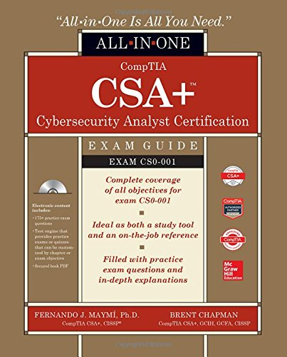 Comptia Csa  Cybersecurity Analyst Certification All In One Exam Guide  Exam Cs0 001
